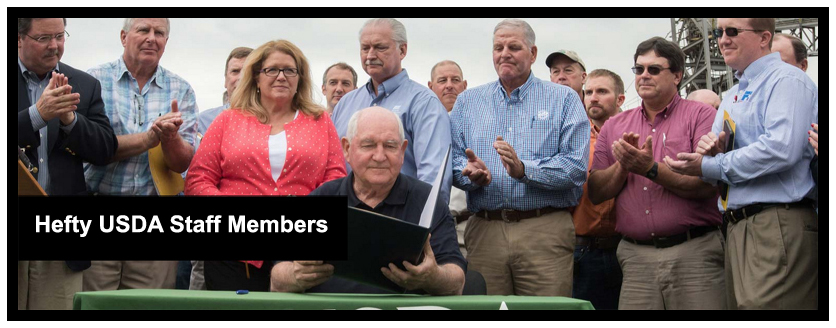 Hefty Members of the USDA