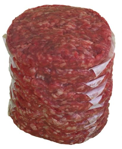 Ground Beef Low-Fat 1/3 lb Patties Economy Pack