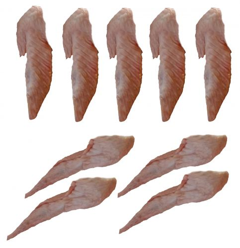 Omega-3 Chicken Wing Tips