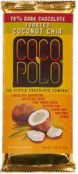 Coco Polo 70% Dark Chocolate with Coconut & Chia