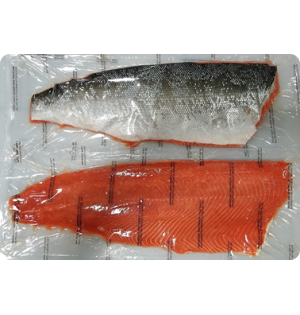 Coho Salmon Fillets  -- large