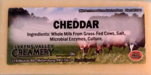 LVC Cheddar Snack Pack 4 count