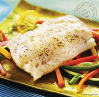 Pacific Cod Steak Portions