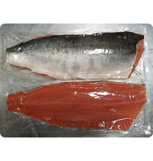 Keta Salmon Fillets  --  large