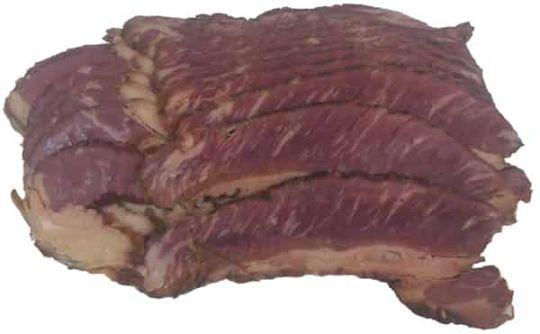 Smoked Buffalo Bacon