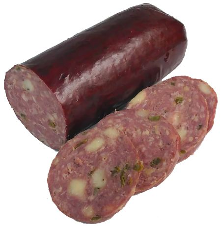 Buffalo Jalapeno/Cheese Summer Sausage