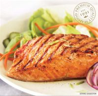 Sockeye Salmon Boneless Steak Portions