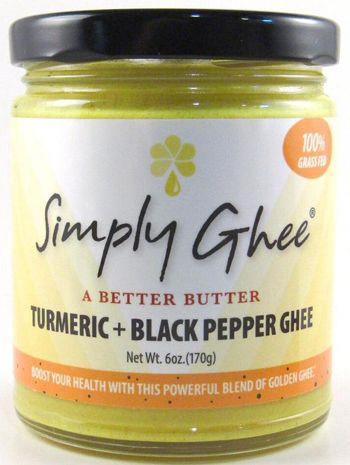 SG Tumeric Black Pepper Ghee