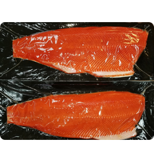 Sockeye Salmon Boneless Fillets  --  large