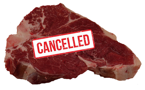 Cancelled: Red Meat and More