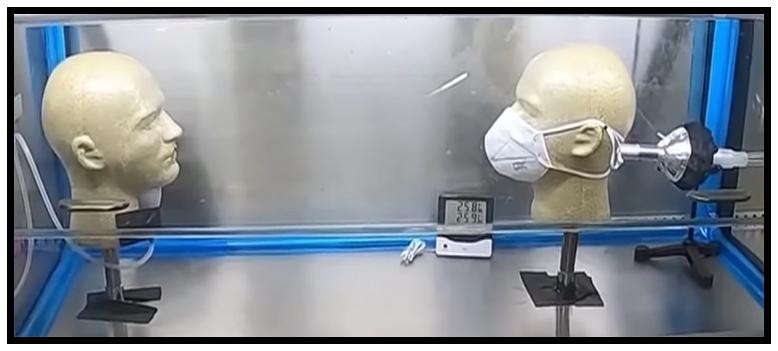 Japan Mask Testing Dummies
